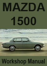 Mazda 1500 Workshop Manual
