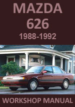 Mazda 626 Workshop Repair Service manual Download PDF