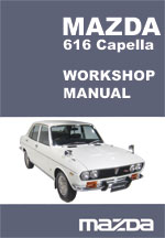 Mazda Capella 616 Workshop Repair Manual