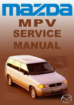 Mazda MPV Workshop Repair Manual