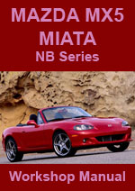 Mazda MX5 (Miata) 1999-2005 Workshop Repair Manual