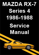 Mazda RX-7 Series 4 Workshop Manual
