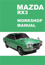Mazda RX3 Workshop Repair Manual