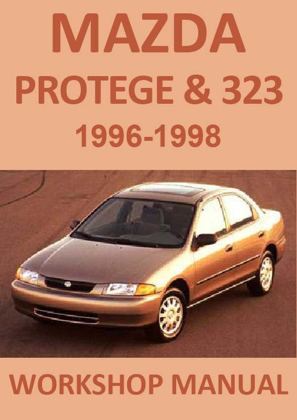 Mazda 323-Protege Workshop repair manual PDF download